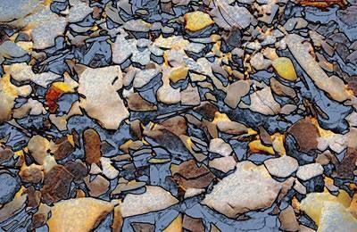 Photograph - Artistic Rocks by Bob Pardue