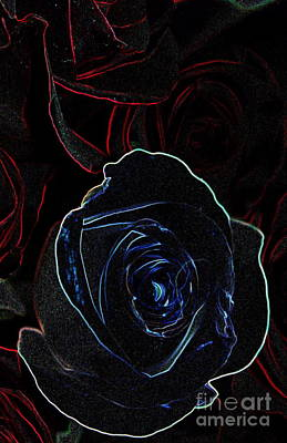 Digital Art - Artistic Roses by Erica Hanel