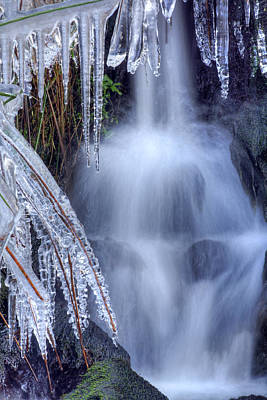 Photograph - Artistry In Ice 23 by David Birchall