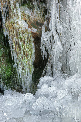 Photograph - Artistry In Ice 4 by David Birchall