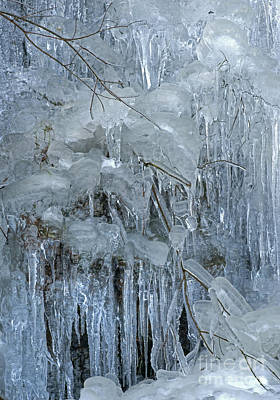 Artistry In Ice 9 Art Print