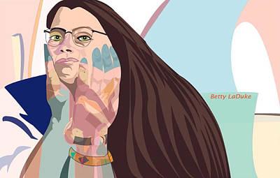Wall Art - Digital Art - Artist's Hands by Kerrie B Wrye