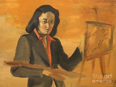 Painting - Artist's Life - 1940 by Art By Tolpo Collection