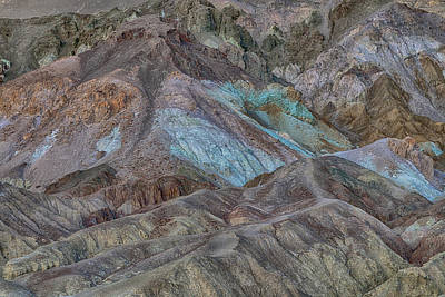 Photograph - Artists Pallet Death Valley Ca Img 0448 by Greg Kluempers