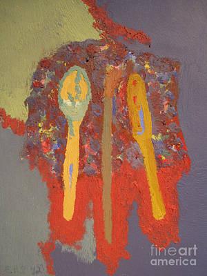 Painting - Artist's Pallete by Elizabeth Stedman