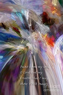 Digital Art - Artist's Prayer by Margie Chapman
