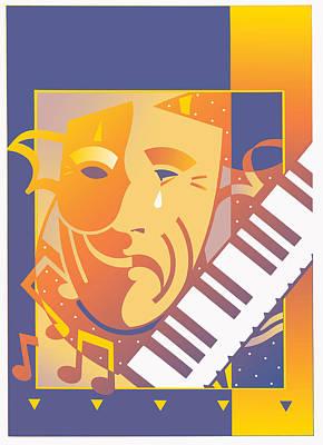 Arts And Music Art Print