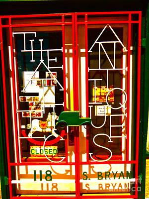Artstic Antique Window Original