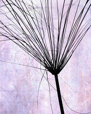 Photograph - Artsy Broom In Purple by Sabrina L Ryan