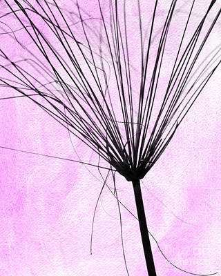 Photograph - Artsy Weed In Pink by Sabrina L Ryan