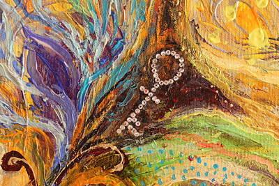 Fatima Painting - Artwork Fragment 83 by Elena Kotliarker