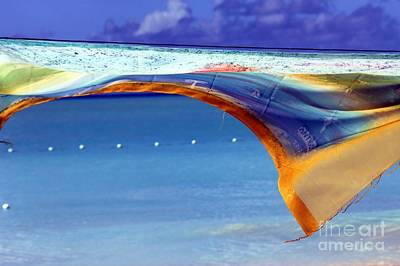 Colorful Fabric Photograph - Artwork In The Tropics by Sophie Vigneault