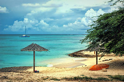 Photograph - Aruba Beach by Leanna Lomanski