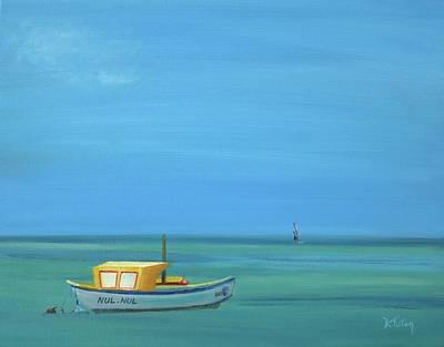 Aruba Art Print by Donna Tuten