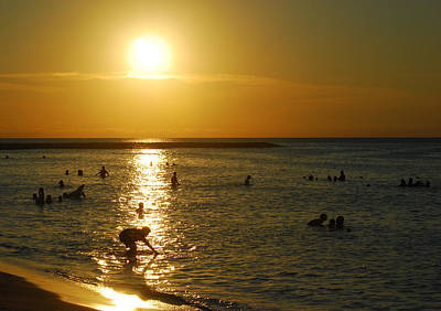 Photograph - Aruba Sunset 2 by Caroline Stella