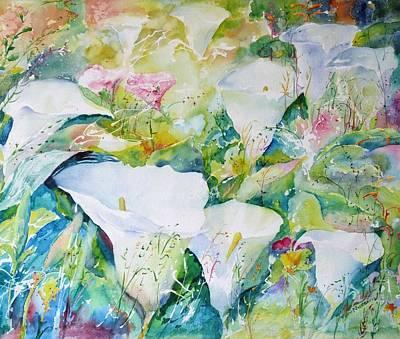 Painting - Arum Glade by John Nussbaum