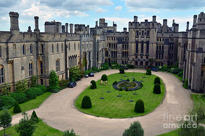 Photograph - Arundel Castle Courtyard by Scott D Welch