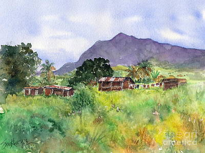 Painting - Arusha by Suzanne Krueger