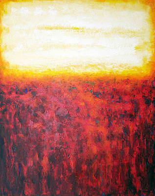 Abstract Art Painting - As Above by Joseph Catanzaro