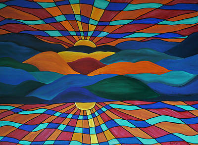 Painting - As Above So Below by Barbara St Jean
