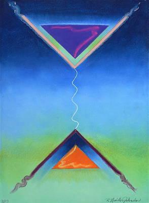As Above So Below II Art Print