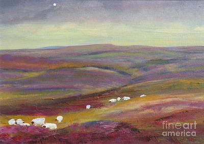 Painting - As Evening Falls by Hazel Millington