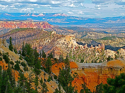 As Far As The Eye Can See From Farview Point In Bryce Canyon-utah   Art Print by Ruth Hager
