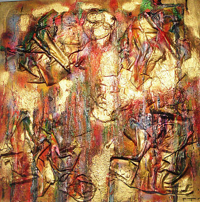 Painting - As Good As Gold by Yael VanGruber