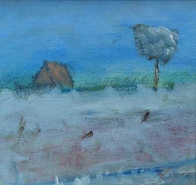 Painting - As I Drove Past by Mary Feeney