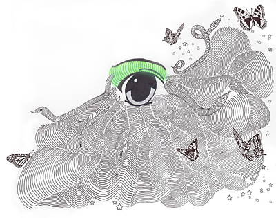 Surrealistic Drawing - As I See Things by Terry Fleckney