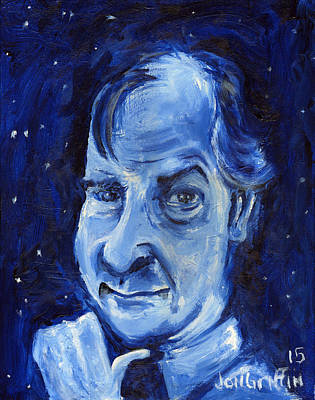 The Universe Painting - As In Dent The Late Arthur Dent by Jon Griffin
