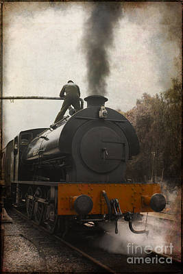Photograph - Filling The Tank by David Birchall