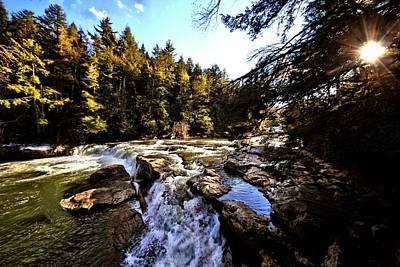 As Lawrence Welk Used To Say-ah Waterfall Waterfall Art Print