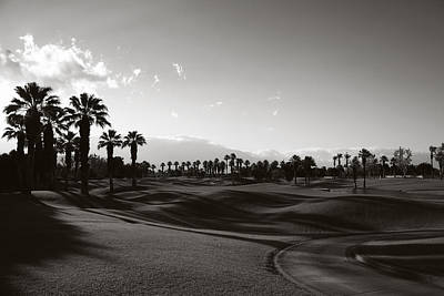 Golf Photograph - As Shadows Spread Across The Land by Laurie Search