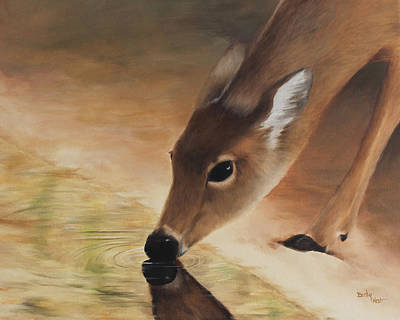 Painting - As The Deer  by Becky West