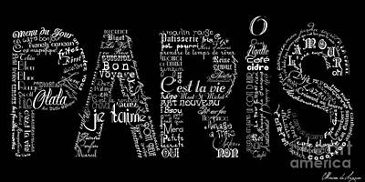 As The French Say... Paris Art Print