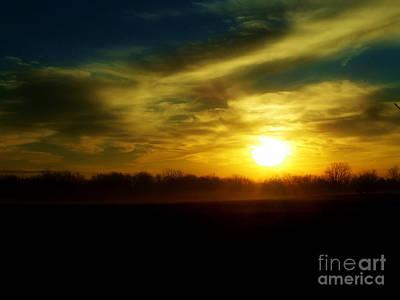 Photograph - As The Mist Rises IIi A by Scott B Bennett