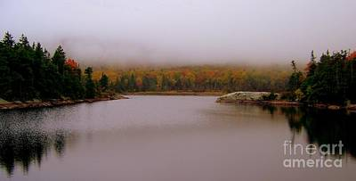 Photograph - As The Morning Fog Lifts by Eunice Miller