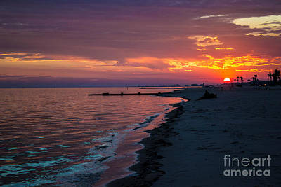 Art Print featuring the photograph As The Sun Sets by Maddalena McDonald