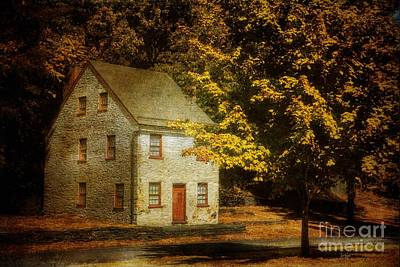 Old Houses Digital Art - As The World Passes By by Lois Bryan