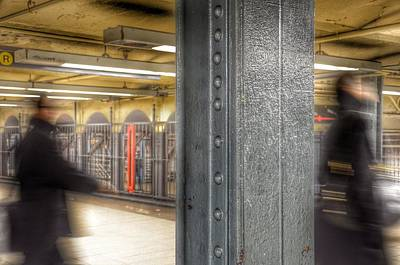 Photograph - As Time Goes By - New York Metro by Marianna Mills