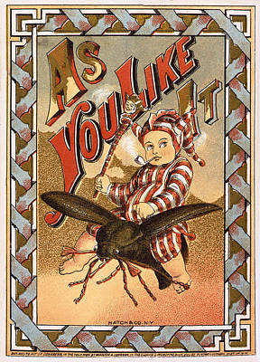 As You Like It Vintage Label Art Print by Hatch and Company New York