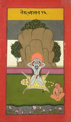 Hindi Photograph - Asanas And Mudras - Hata Yoga by British Library