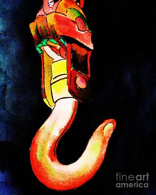Painting - Asarco Powerhouse Hook by Melinda Etzold
