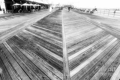 Photograph - Asbury Boardwalk by John Rizzuto