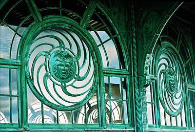 Asbury Park Carousel Window Photograph - Asbury Carousel House by William Walker