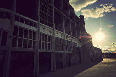 Terry D Photograph - Asbury Park Nj Casino Vintage by Terry DeLuco