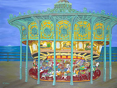 Asbury Park Yesteryear Art Print by Norma Tolliver