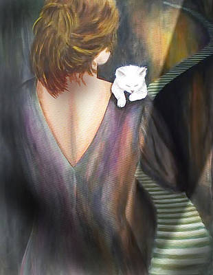 Ascending Art Print by Diana Lehr