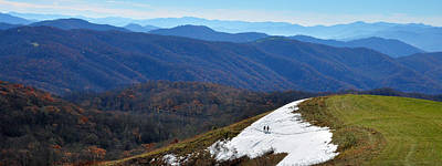 Photograph - Ascending Max Patch Mountain by Alan Lenk